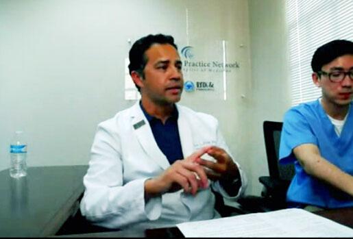 子宫内膜癌术后多发转移