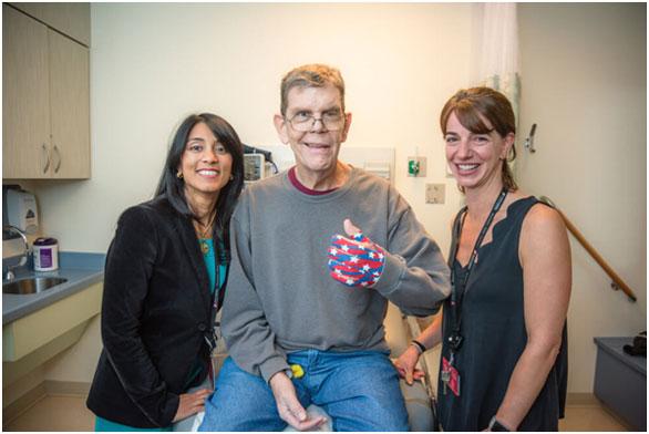 淋巴瘤扩散到了大脑,借助CAR-T细胞疗法,他的疾病得到缓解