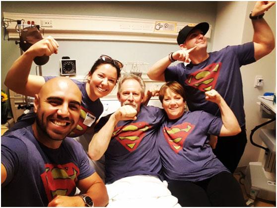 """经历癌症丨我们的""""超人""""父亲,我们的三个愿望"""